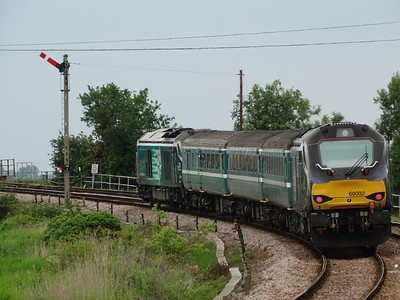 68002 - Somerleyton  2J81 14:57 Lowestoft to Norwich