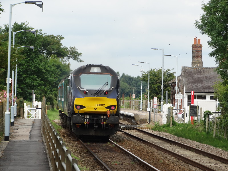 68002 - Buckenham<br /> <br /> 2J73 1057 Lowestoft to Norwich