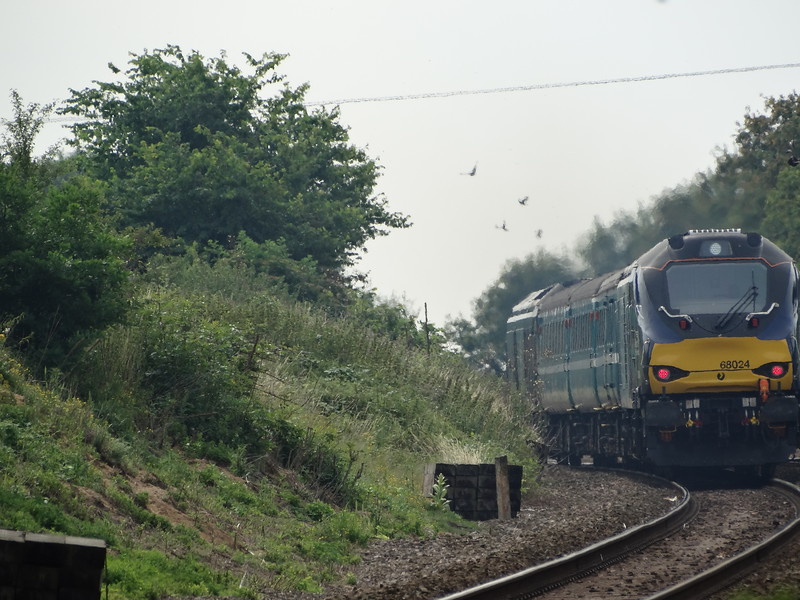 68024 - Strumpshaw<br /> <br /> 2J70 1005 Norwich to Lowestoft