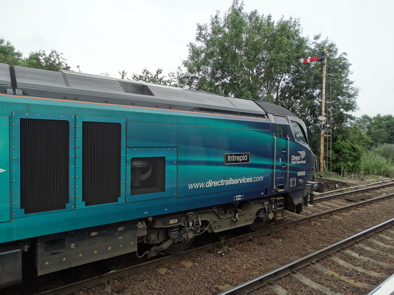 68002 - Acle<br /> <br /> 2P32 17:36 Norwich to Great Yarmouth
