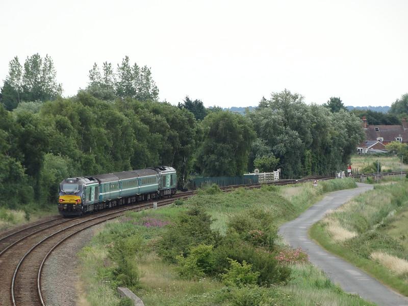 68024 - Haddiscoe <br /> <br /> 2J78 1405 Norwich to Lowestoft