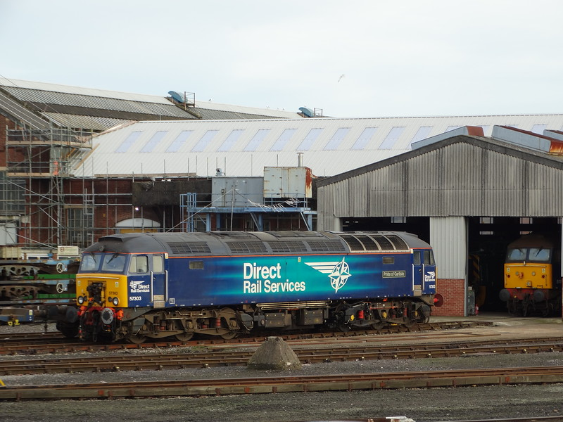57303 - Eastleigh Works