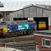 57303 & 57011 - Eastleigh Works