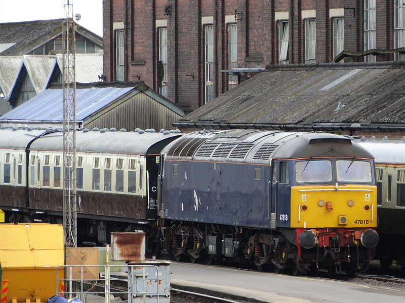 47818 - Eastleigh Works