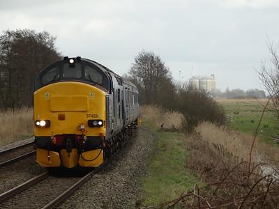 Norfolk Class 37s & Class 68s (06-03-2017)