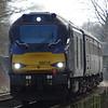 68016 - Strumpshaw (RSPB Foot Crossing)<br /> <br /> 2J73 10.57 Lowestoft to Norwich