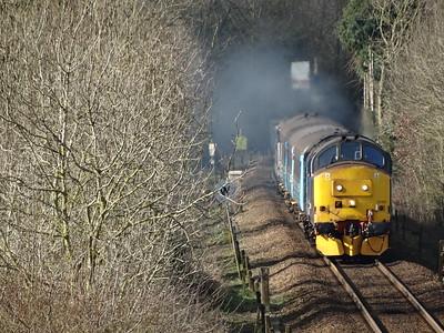 37425 - Strumpshaw (Cuckoo Lane)  2P18 10:36 Norwich to Great Yarmouth