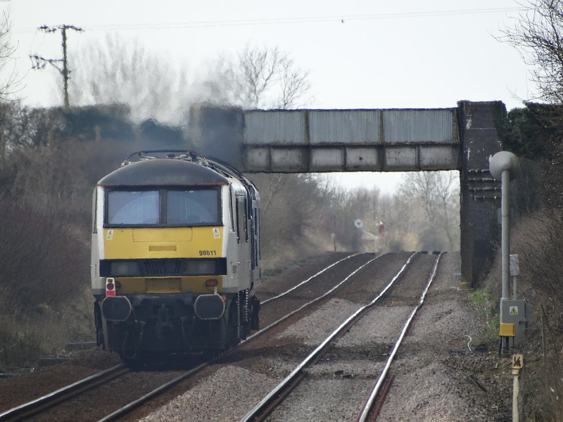 90011 - Spooner Row<br /> <br /> 0Z56 1209 Norwich Crown Point - Bounds Green T&RSMD