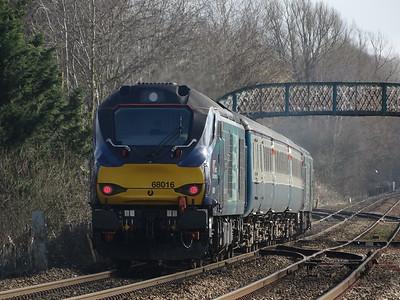 68016 - Whitlingham (Girlings Lane)  2J70 10.05 Norwich to Lowestoft