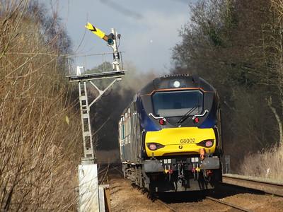 68002 - Strumpshaw (RSPB Foot Crossing)  2J73 10.57 Lowestoft to Norwich