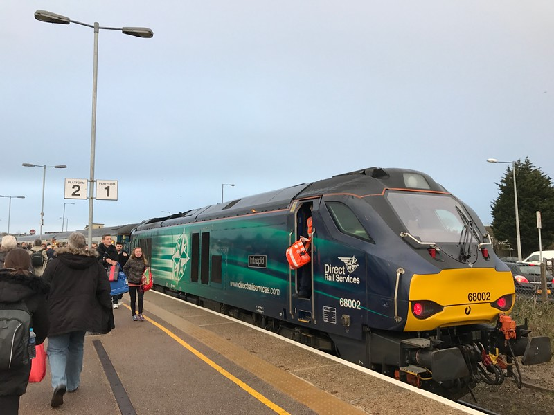 68002 - Great Yarmouth<br /> <br /> 2P29 17.17 Great Yarmouth to Norwich