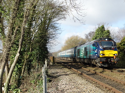 68002 - Whitlingham (Girlings Lane)  2J70 10.05 Norwich to Lowestoft