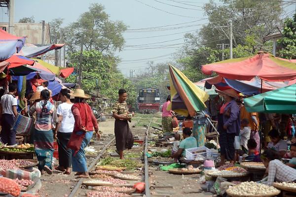 February 21st, Mandalay - Railway Bazaar