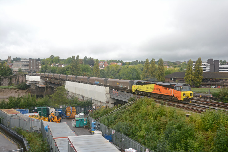 70810 on the 4C21 Aberthaw to Avonmouth empties