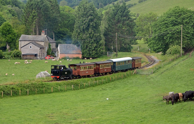 June 3rd, Welshpool & Llanfair Light Railway - Heniarth