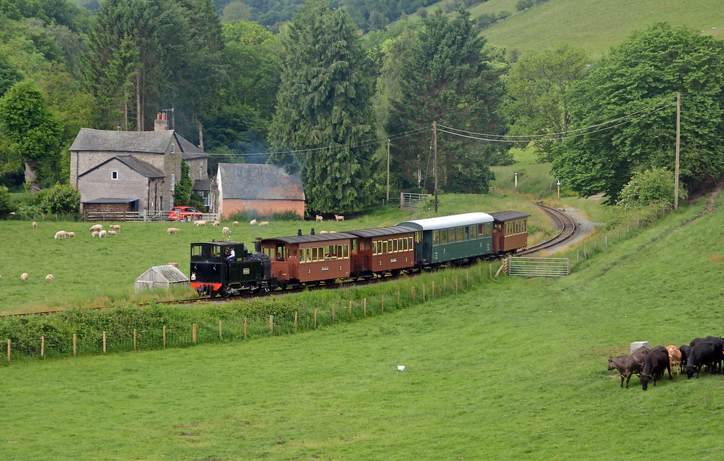 June 3rd, Welshpool & Llanfair Light Railway - Heniarth