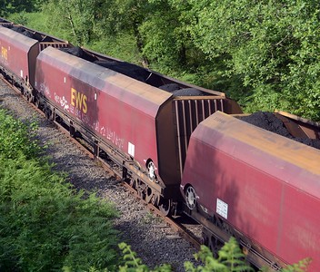 DBC's HTA hopper wagons carrying what they were built to carry.
