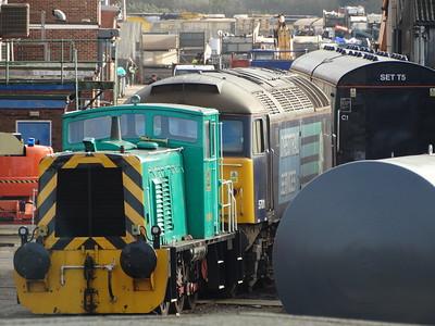 01508 & 57011 - Eastleigh Works