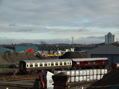 W4991 & 99963 Eastleigh Works