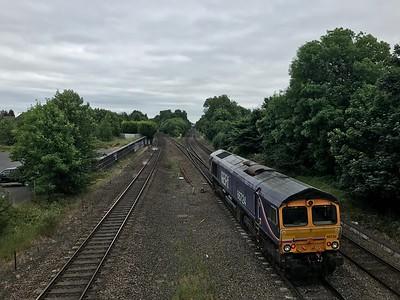 66724 - Water Orton  0G15 14:12 Bescot Up Engineers Sidings to Hams Hall GB Railfreight