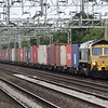 66534 - Chorlton<br /> <br /> 4M61 13:00 Southampton Marine Container Terminal to Trafford Park Freightliner Terminal