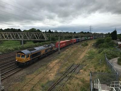66716 - Stafford  4L18 12:17 Trafford Park EURO TML GBRF to Felixstowe South GB Railfreight
