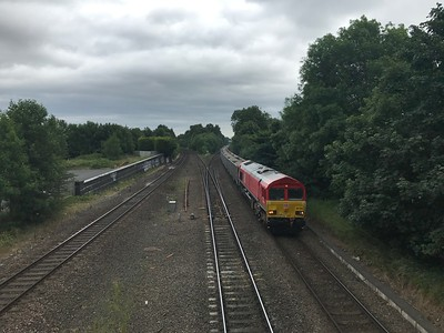 66020 - Water Orton  6B30 1255 Mountsorrel Sidings to Northampton Castle Yard