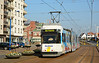 Tram 6009 is seen arriving at Koksijde lejeunelaan 27/03/2017.