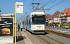 Kusttram 6009 is seen arriving at Nieuwpoort Ysermonde heading for Knokke. Designated AM8 these Trams originally were two cars only. The addition of a low floor section for ease of access has increased their loading. Note the hump in the platform to accommodate the low floor doors.