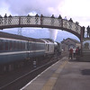 With 67029 providing the ETH 60163 Tornado blows off as they prepare to depart Kirkby Stephen with the 14:57 Appleby-Skipton Norhern Trains plandampf service, 14/2/2017.<br /> With normals, a few cranks, 3 TV news crews, a Northern manager and BT-Plod in attendance this had got to be the busiest I've ever seen Kirkby station......