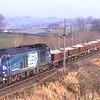 68003 Astute decends passed Docker with the Carlisle - Crewe departmental, 26/1/2017.