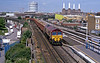 66079 followed on MBA box wagons loaded with ballast, presumably bound for Hoo Junction?