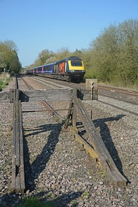 The 16:03 Paddington to Penzance with Great Western's Remembrance HST 43172 Harry Patch
