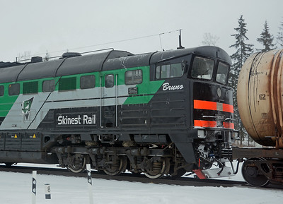 Skinest Rail is an Estonian operation, 875 has been the recipient of a name, Bruno.