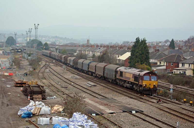 January 14th, Newport, East Usk Yard / Iard Rheilffordd Dwyrain Wysg, Casnewydd