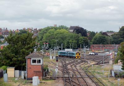 August 8th, Abbey Foregate Junction, Shrewsbury