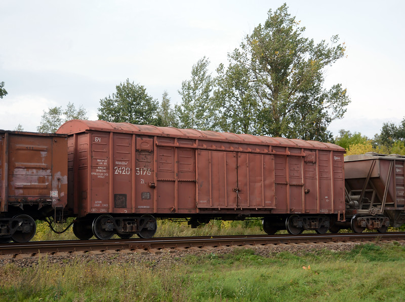 And a box car / van from Belarus