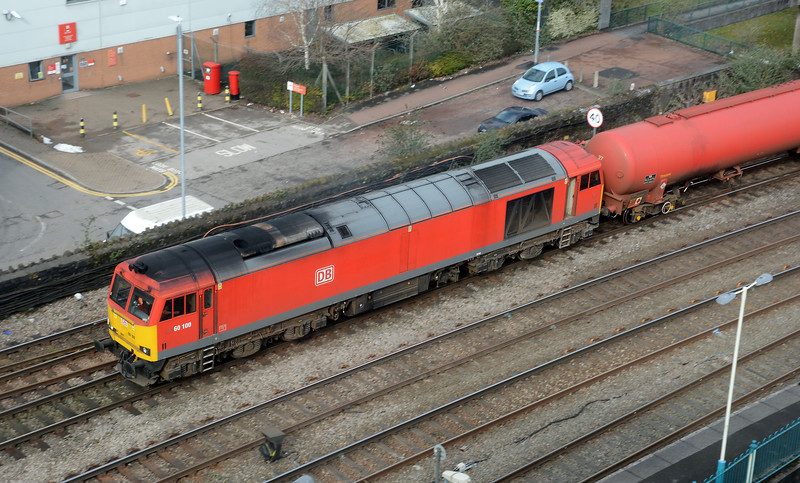 The clean lines of the class 60 are pretty ageless.