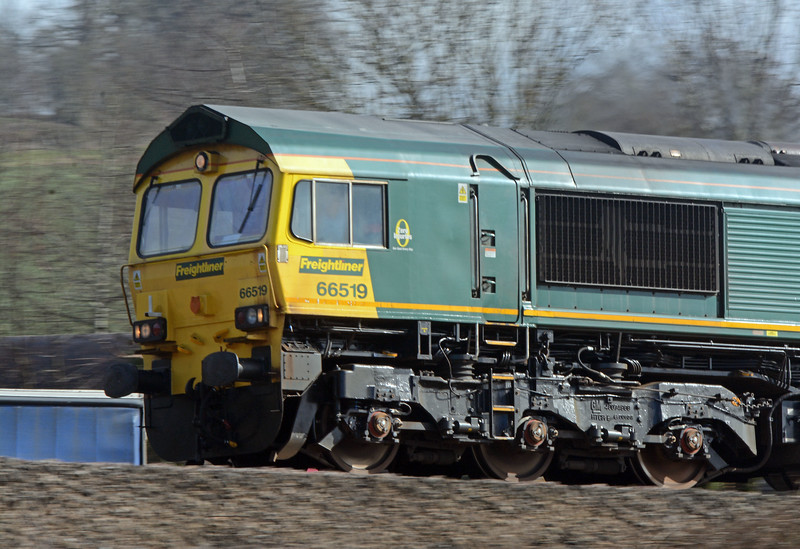 66519 was bowling along in fine style.