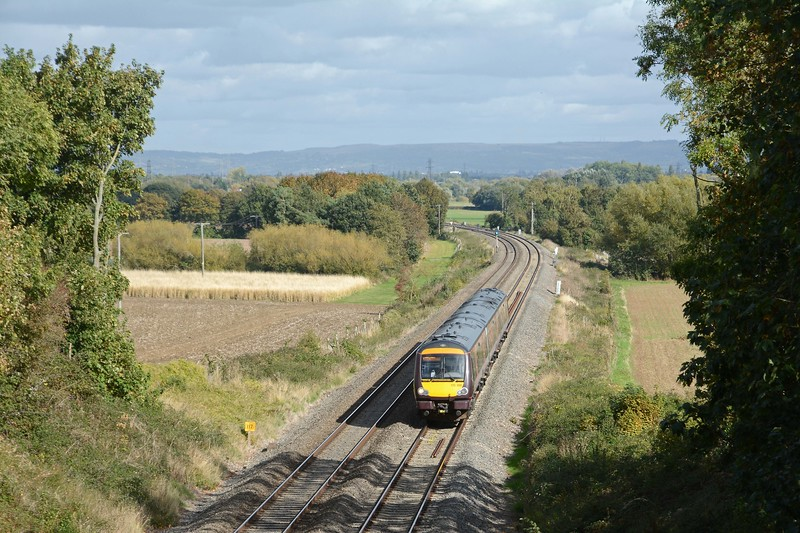 What was shown as a 1Z09 Gloucester to Cardiff, the 1V09 Nottingham to Cardiff having been cancelled between Birmingham and Gloucester because of a train crew issue.