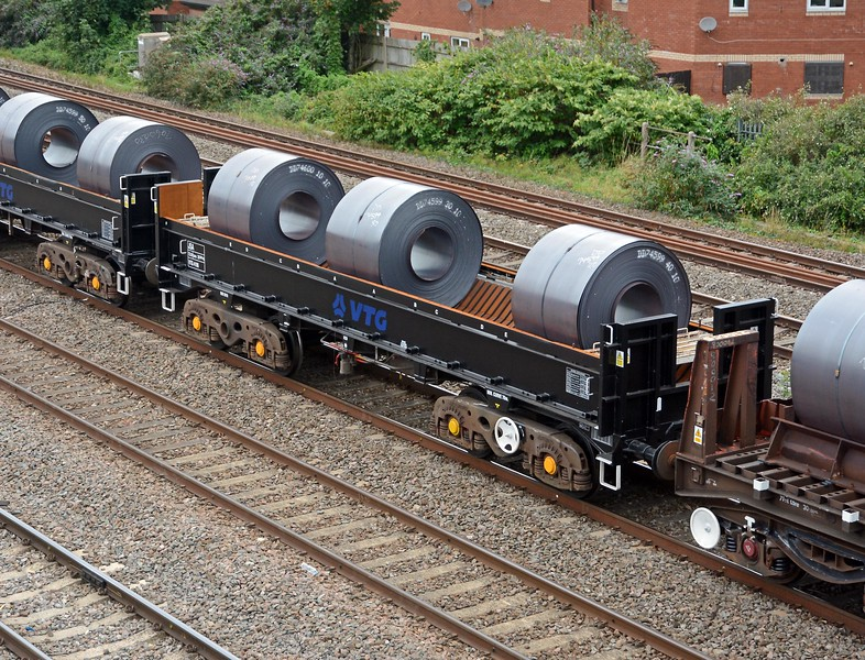 It contained three of the newly converted JSA coil carriers.