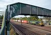 66570 speeds towards Wembley Yard on 4L90 Crewe to Felixstowe.