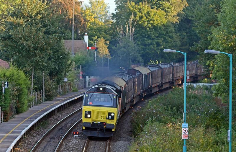 September 5th, Abergavenny Station / Gorsaf Y Fenni