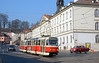 Malostranska is the stop for Prague Castle and an interchange with the Underground. Seven routes stop here.