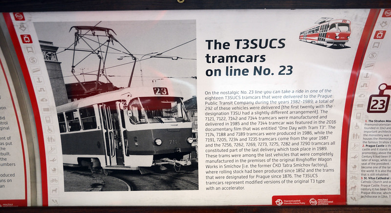 And here's detail of one of the T3 types used on route 23.