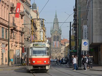 The Trams of Prague