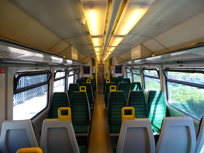 Class 323 Interior