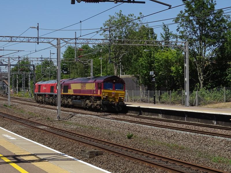 66095 & 59203 - Lichfield Trent Valley