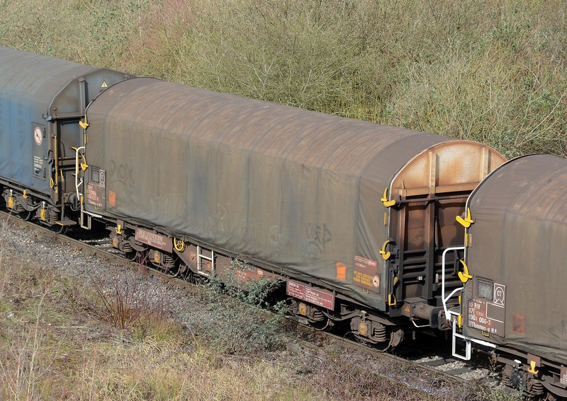 One of the ubiquitous IHA sheeted steel carrier.