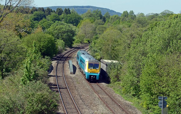 175 010 on a Carmarthen to Manchester Piccadilly service